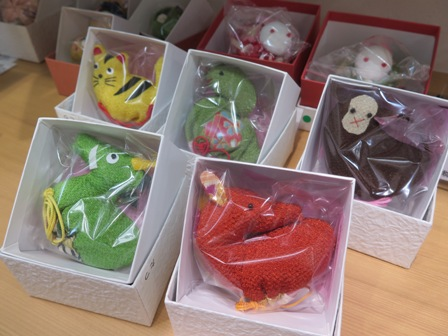 There are also many cute fragrant bags in animal shapes!