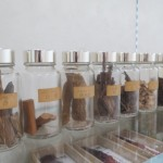 Raw incense ingredients