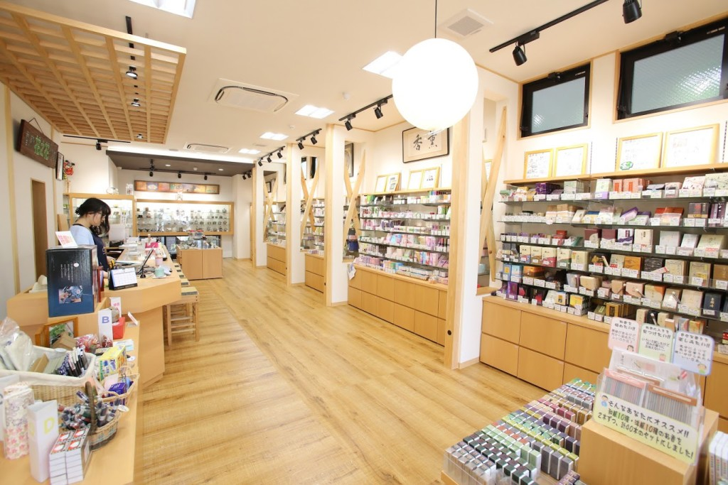 Vast variety of Japanese incense and our original Traial Kit